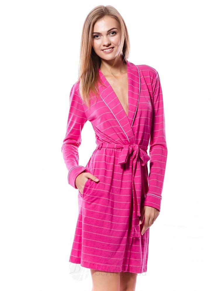 Купить Хлопковый халат от Victoria s Secret 04582. Женское белье ... 2605d63c00a79