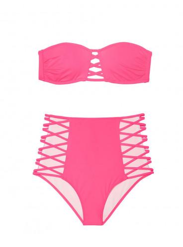 Стильный купальник-бандо Victoria's Secret PINK
