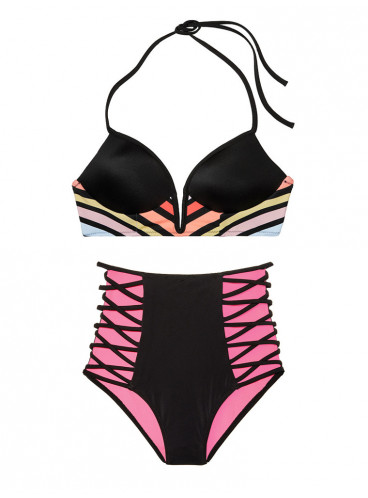 Стильный купальник с Push-up Victoria's Secret PINK