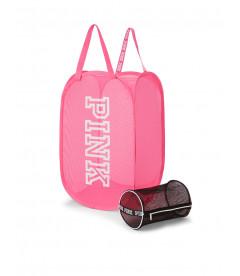 Корзина для белья + мешочек для стирки от Victoria's Secret