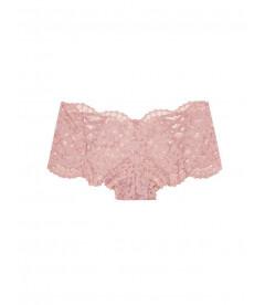 Кружевные трусики-шортики из коллекции Body by Victoria от Victoria's Secret - Antique Lavender