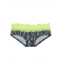 Трусики от Victoria's Secret PINK - Neon Citrus Dog