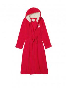 Фото Длинный плюшевый халат от Victoria's Secret