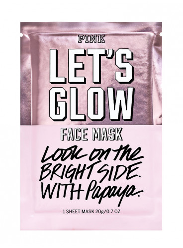 Mаска для лица Lets Glow из серии PINK