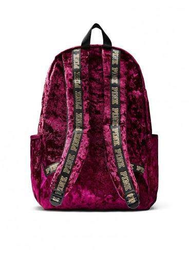 Стильный бархатный рюкзак от Victoria's Secret PINK