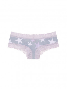 More about Хлопковые трусики от Victoria's Secret PINK - Lilac Stars