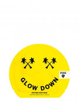 Фото Успокаивающая маска для лица Glow Down из серии PINK