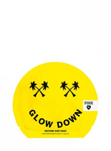 Успокаивающая маска для лица Glow Down из серии PINK
