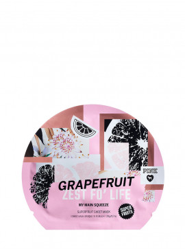 Фото Mаска для лица Grapefruit Zest For Life из серии PINK