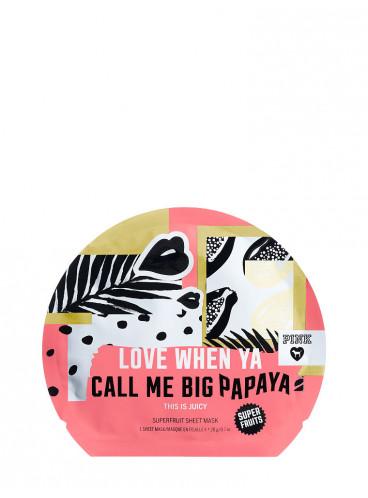 Mаска для лица Love When Ya Call Me Big Papaya из серии PINK