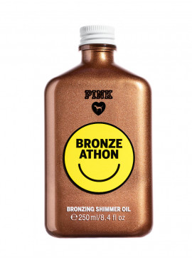 Масло-бронзeр Bronze Athon для тела с шиммером из серии PINK