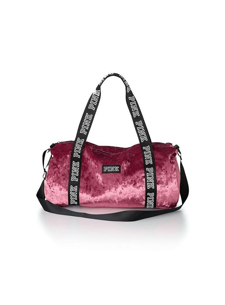 fb8887bd792f Купить Бархатная спортивная сумка Victoria's Secret PINK 07453 ...
