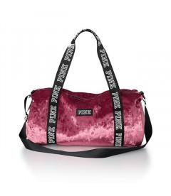 Бархатная спортивная сумка Victoria's Secret PINK