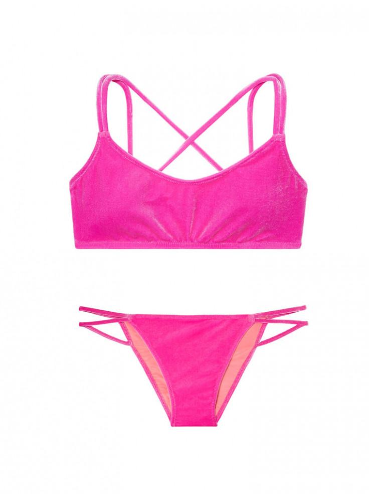 8abd0abb258a1 Купить NEW! Бархатный купальник Victoria's Secret PINK 07483 ...