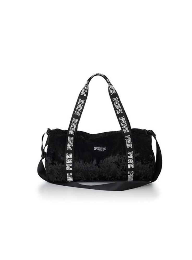 6595cb9cd52a9 Купить Бархатная спортивная сумка Victoria's Secret PINK 07504 ...
