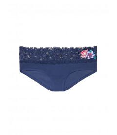 Хлопковые трусики с вышивкой от Victoria's Secret PINK