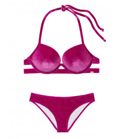 Бархатный купальник с Super Push-Up Victoria's Secret PINK