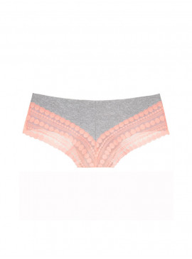 Бесшовные трусики-чики с кружевом от Victoria's Secret PINK