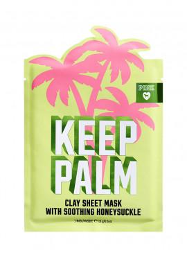 Фото Глиняная маска для лица KEEP PALM из серии PINK