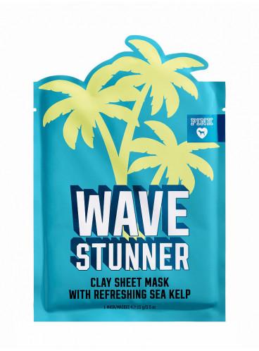Глиняная маска для лица WAVE STUNNER Sea Kelp из серии PINK