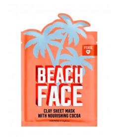 Глиняная маска для лица BEACH FACE Cocoa из серии PINK