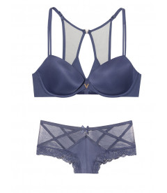 Комплект белья Lightly Lined Demi из коллекции SEXY ILLUSIONS от Victoria's Secret