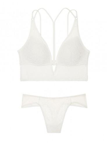 Бархатный комплект белья без Push-up от Victoria's Secret PINK