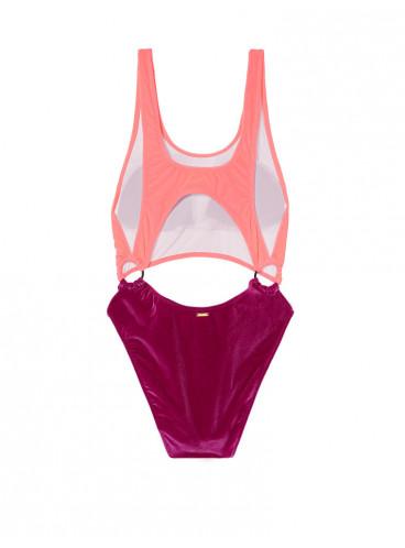 Бархатный монокини Victoria's Secret PINK