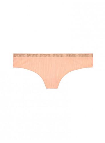 Бархатные трусики-стринги Rib от Victoria's Secret PINK