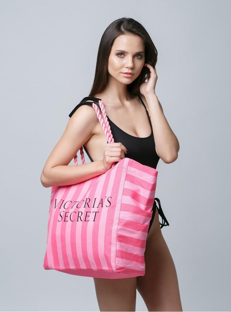189dbf5345675 Купить Стильная пляжная сумка Victoria's Secret 07707. Женское белье ...