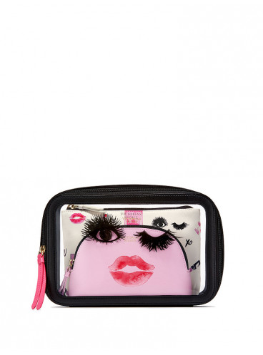Набор из 3-х косметичек Bombshell Vibes от Victoria's Secret
