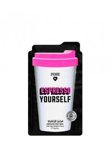 Бодрящая кофейная маска для лица Espresso Yourself из серии PINK