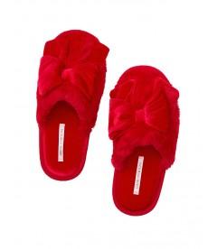 Мягенькие тапочки с бантиком от Victoria's Secret