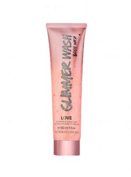 Фото Парфюмированный гель-скраб для тела с блестками Love от Victoria's Secret