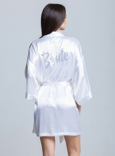 Роскошный халат для невесты от Victoria's Secret Bride