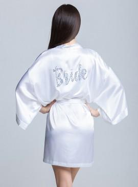 Фото Роскошный халат для невесты от Victoria's Secret Bride