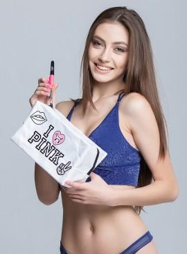 Фото Стильная косметичка Victoria's Secret PINK