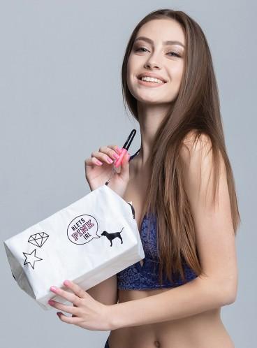 Стильная косметичка Victoria's Secret PINK