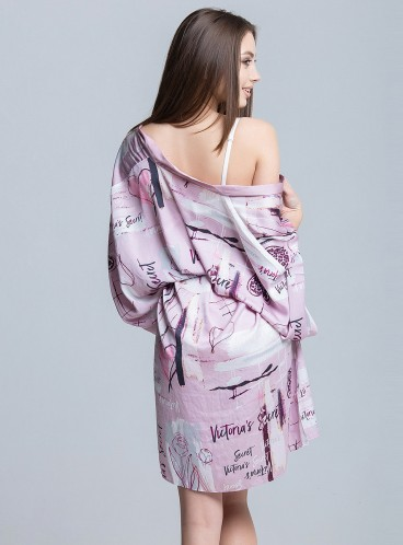 Роскошный халат из коллекции Dream Angels от Victoria's Secret