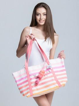 Фото Стильная пляжная сумка Victoria's Secret
