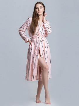 Фото Роскошный халат-кимоно Stripe от Victoria's Secret