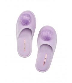 Мягенькие тапочки с меховым помпоном от Victoria's Secret