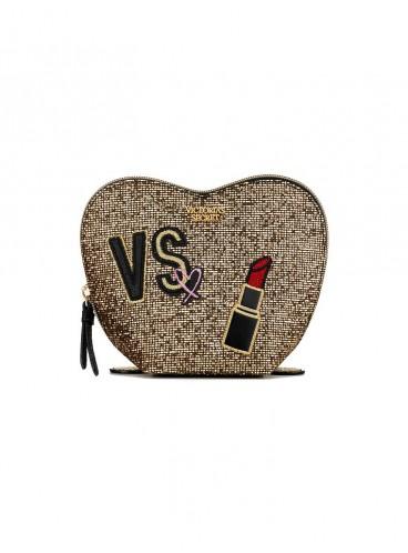 Косметичка Glitter Mesh Heart от Victoria's Secret