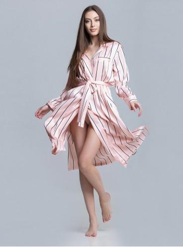 Роскошный халат-кимоно Stripe от Victoria's Secret