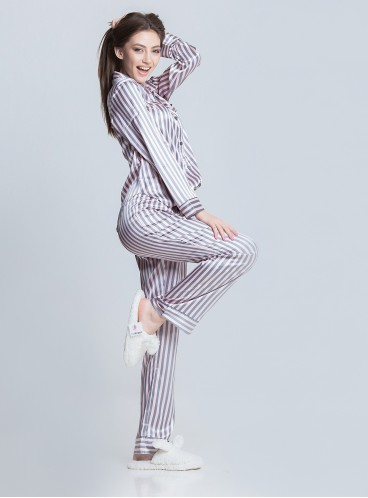 Сатиновая пижама от Victoria's Secret