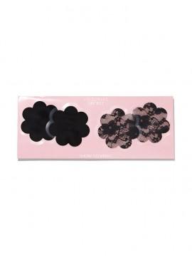 Фото Наклейки на грудь в форме цветка от Victoria's Secret - Black