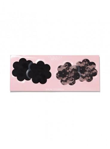 Наклейки на грудь в форме цветка от Victoria's Secret