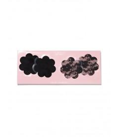 Наклейки на грудь в форме цветка от Victoria's Secret - Black