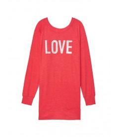 Ночная рубашка LOVE от Victoria's Secret - Red Love
