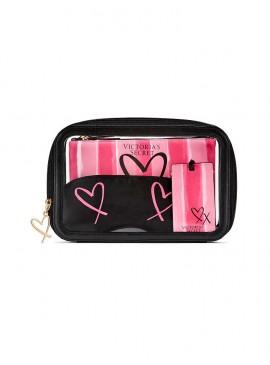 Фото Дорожний набор VS Signature Stripe от Victoria's Secret